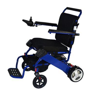 Blue Electric Wheelchair