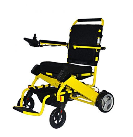 Yellow Electric Wheelchair