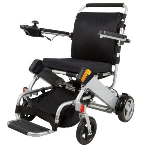 Silver Electric Wheelchair