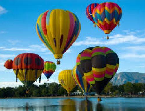 Hot Air Balloon Takes Wheelchair Riders Up In The Air